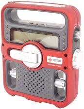 Eton/American Red Cross FR-600 Portable AM/FM/NOAA Radio +Solar Power/Flashlight