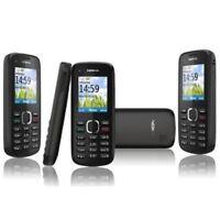 box sealed Nokia C1-02 BLACK BASIC MOBILE PHONE UNLOCKED SIM FREE MP3 FM boxed