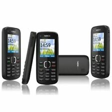 box sealed Nokia C1-02 BLACK BASIC MOBILE PHONE UNLOCKED SIM FREE MP3 FM boxed