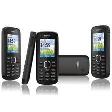 Caja Sellado Nokia C1-02 Negro Básico Teléfono Móvil Libre SIM MP3 Fm en