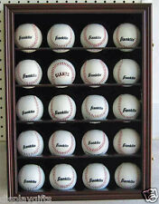 Display Cases Baseball Hockey Puck Display Case Sturdy Construction