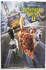 HOMEWARD BOUND II - Disney - Original Movie Poster - 1996 Rolled DS C9/C10