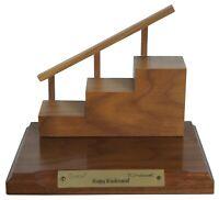 """Goebel Hummel Happy Kinderspiel Wood Stair Display Staircase for Hummels 8"""""""