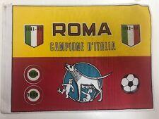 Bandierina da collezione Roma campione d'Italia 1982/1983 - bandiera 2° scudetto