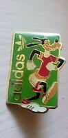 Goofy in Adidas running shoes pin vintage Walt Disney