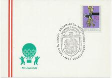 A 4840 VÖCKLABRUCK Jugend-Briefmarken-Ausstellung 30 Jahre 2. Rep. STEMPELFEHLER