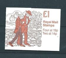 Gb Sgfh14 1988 £1 Charles Dicken Series No.2 Booklet