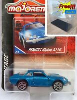 Majorette Renault A110 Blue Vintage Car 1/61 210A Free Display Box