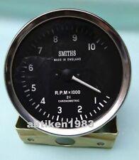 100 Mm Smiths Replica Tachometer Clockwise Mechanical M18x15 Thread