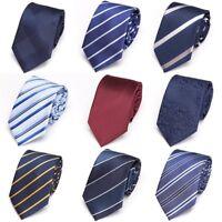 Men ties 7cm necktie business wedding tie Male Dress gift gravata Striped tie