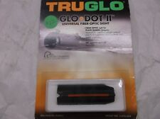 Tru Glo Glo Dot Ii Universal Fiber-Optic Sight Red Shotgun