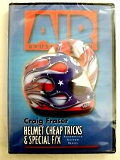 Craig Fraser Airbrush Instructional Dvd Helmet Cheap Tricks & Special F/X New