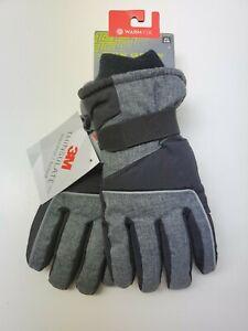 Youth Tek Gear Warm Tek 3M Thinsulate Insulation Ski Gloves M/L 8/20