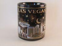 Las Vegas Souvenir Coffee Mug Cup Las Vegas at Night Fireworks Casino Show Girls