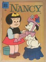 "Nancy #153 (1958, Dell) 6.0...also featuring ""Peanuts"" by Charles Schulz"