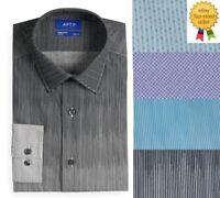 Apt 9 Mens Slim Fit Premier Flex Stretch Dress Shirt size 14.5 15 15.5 16.5 NEW
