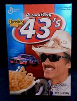 Richard Petty 43's Empty Cereal Box 2002 -Collector's Edition #2 Cheerios