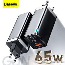 Baseus GAN 65W USB C Charger Quick Charge 4.0 3.0 QC4.0 QC PD3.0 PD USB-C Typ C