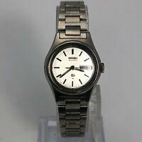 Seiko Womens 1N3434 Stainless Steel Quartz Analog Bracelet Wrist Watch