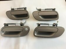 99 - 09 Volvo S60 S80 V70 XC70 Door Handles Exterior Front Rear Left Right Set