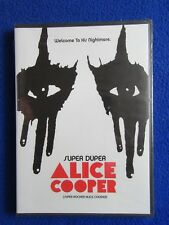 ~~ SUPER DUPER ALICE COOPER WELCOME TO HIS NIGHTMARE DVD 2014 ~~