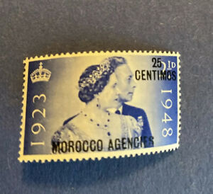 Morocco Agencies-1948-25th Anniversary  Stamp MH