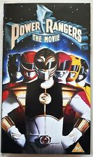 POWER RANGERS: THE MOVIE    VHS VIDEO    (PAL / VHS)