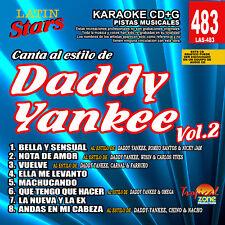 Karaoke Latin Stars 483 Daddy Yankee Vol.2