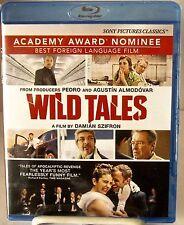 Wild Tales (Blu-Ray, jun-2015) PREMIADO Negro Comedia de Damian Szifron