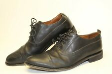 John Varvatos Mens Size 9.5 Leather Lace Up Oxfords Italy Handmade Shoes F744