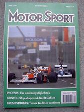Motor Sport (April 1990) 911 Carrera 2,Carrera 2.8 RSR, Elan,Arnolt-Bristol, MX5