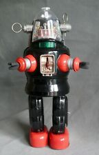 nomura wind up mechanised tin toy robby robot vintage japanese forbidden planet