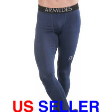 ARMEDES Men's Compression Pants Baselayer Cool Dry Sports Leggings AR 161