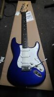 Squier Stratocaster Blue great bundle, setup free freight-Fortmadisonguitars w0w