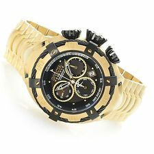 NEW Invicta Reserve 52mm Thunderbolt Gold Tone Chronograph Stainless Steel 21346