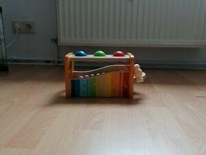 Xylophon Mit Hammerspiel Holz