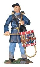 W Britain Soldiers 17931 ACW Union Infantry Drummer In Frock Coat