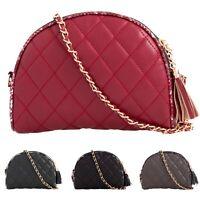 Women's Faux Leather Clutch Bag Ladies Mini Crossbody Bags UK