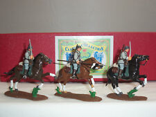 TROPHY MINIATURES WW1 6TH MAGDEBURG REGIMENT TROOPERS MOUNTED TOY SOLDIER SET