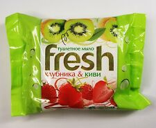 "Toilet soap ""FRESH"" strawberries and kiwi  50g. Russia"