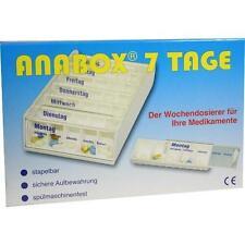 ANABOX 7 Tage Wochendosierer weiss 1St PZN: 3040916