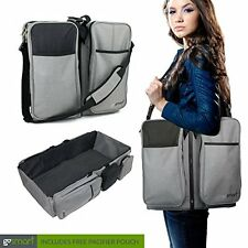 3 in 1 Travel Portable Baby Bassinet Diaper Bag Changing station New