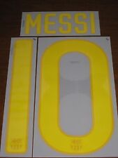 Barcelona Spain Messi #10 Original Authentic Numbering Soccer Name Font Jersey