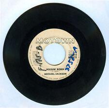 Philippines MICHAEL JACKSON Rockin' Robin 45 rpm PROMO Record