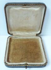 Ancien écrin boite pour bijou SHEPHEARD & COMPANY London 19e siècle