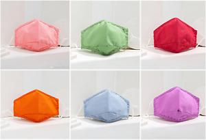 Bright Cotton Fresh Colour Face Masks: Reusable + Washable  - UK Seller