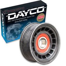 Dayco Drive Belt Pulley for 2001-2010 Ford Explorer Sport Trac 4.0L V6 - ju