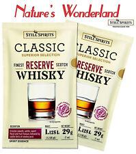 Classic Finest Reserve SCOTCH WHISKEY 2x29g sachets =2.25L Still Spirits ESSENCE