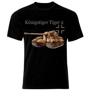 PzKpfw Tiger 2 Tank Panzer Armure WW2 Army War Wehrmacht T-Shirt