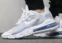 Nike Air Max 270 React SE White Pure Platinum  CT1265-100 - UK 8 - RRP £140